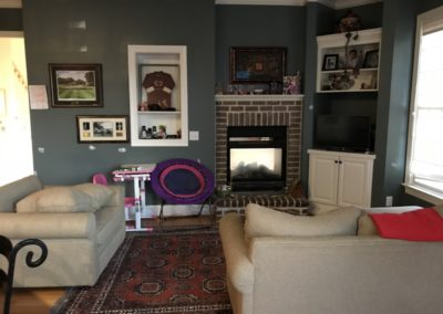 Pinehurst Before Interior