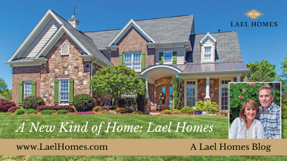 Lael Homes postcard a new kind of home