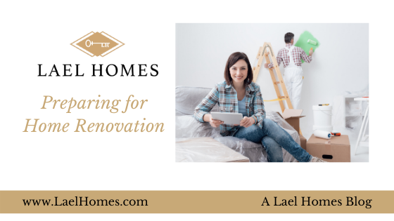 Preparing for Home Renovation
